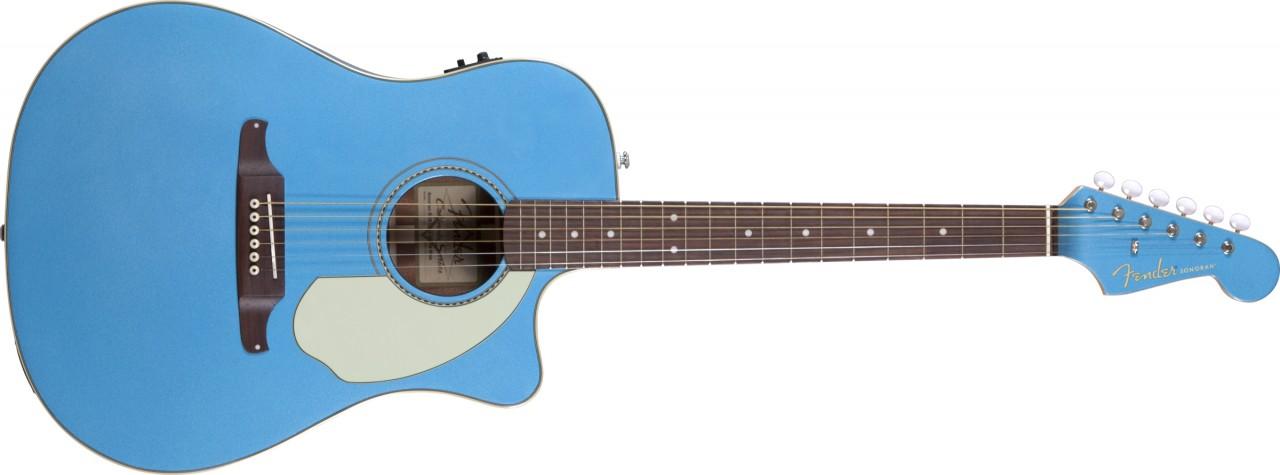 Ongekend Fender Sonoran SCE elektrisch-akoestische western gitaar blauw IJ-51