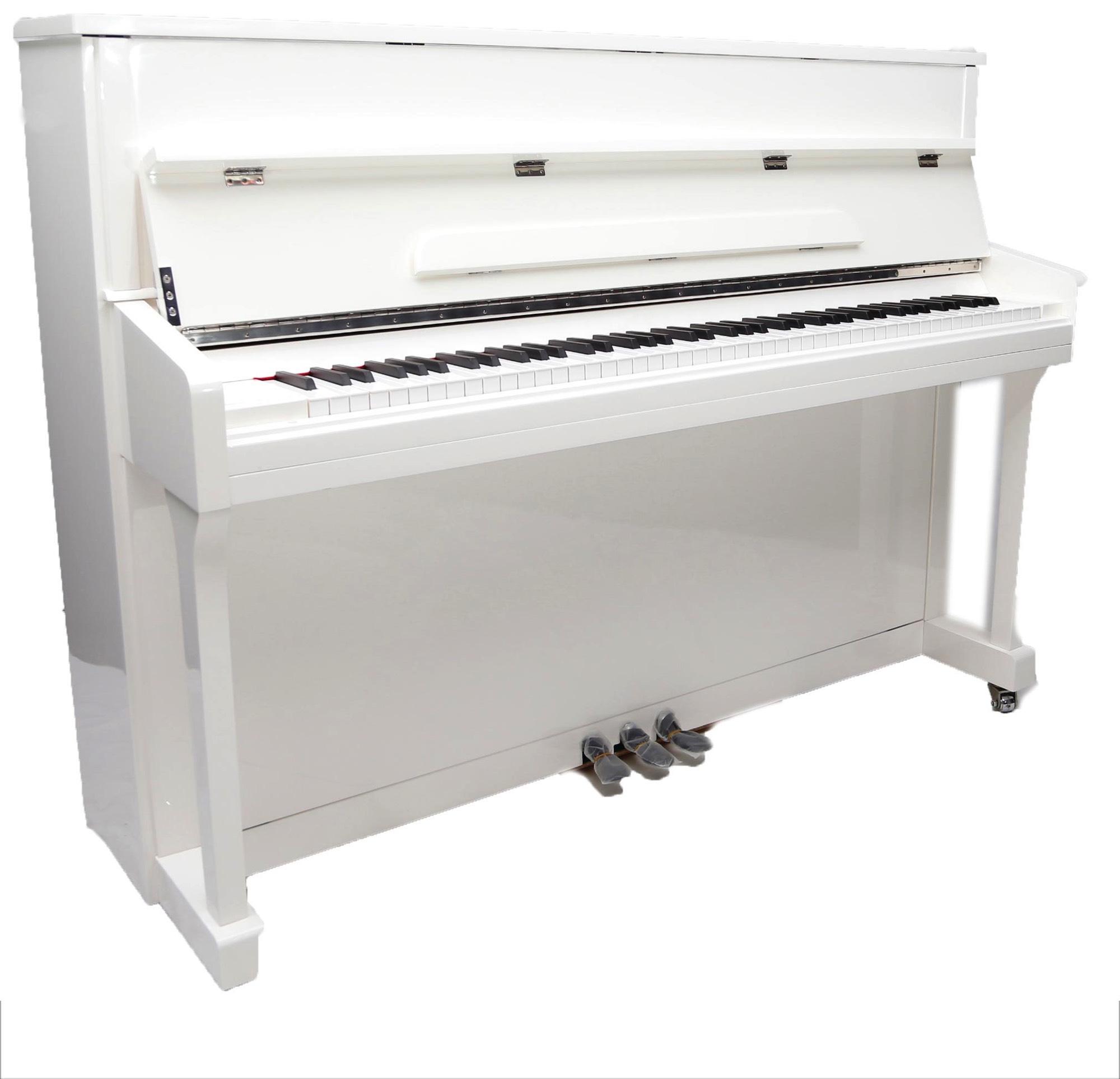 Hoogglans Witte Piano.Liedermann Piano L 109 L In Wit Hoogglans